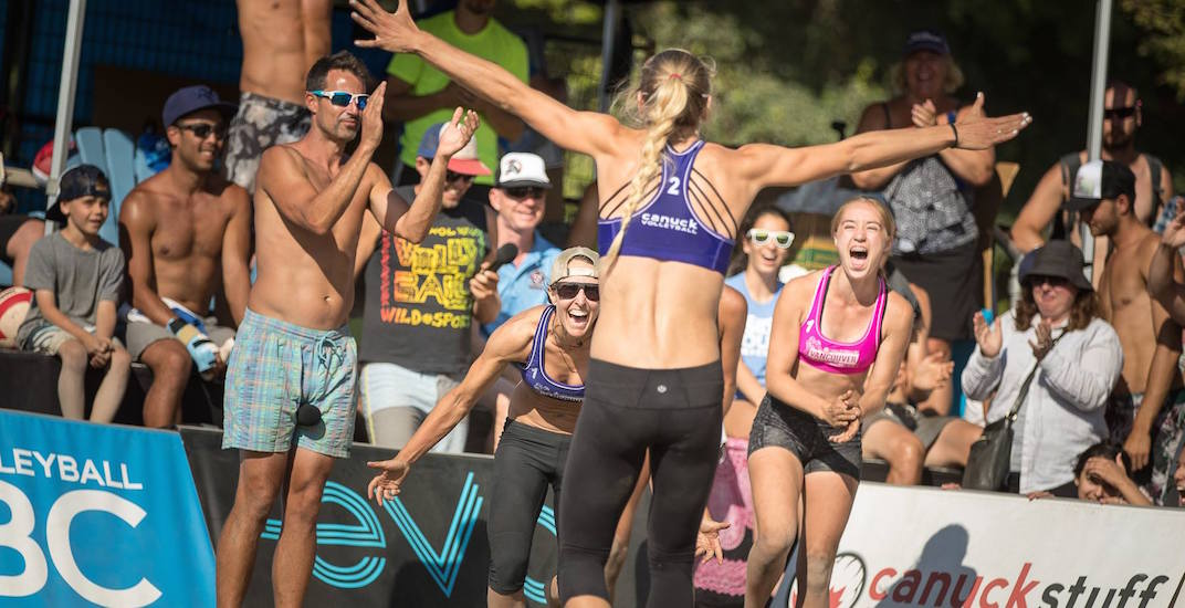 Pro beach volleyball returns to Kits Beach this weekend