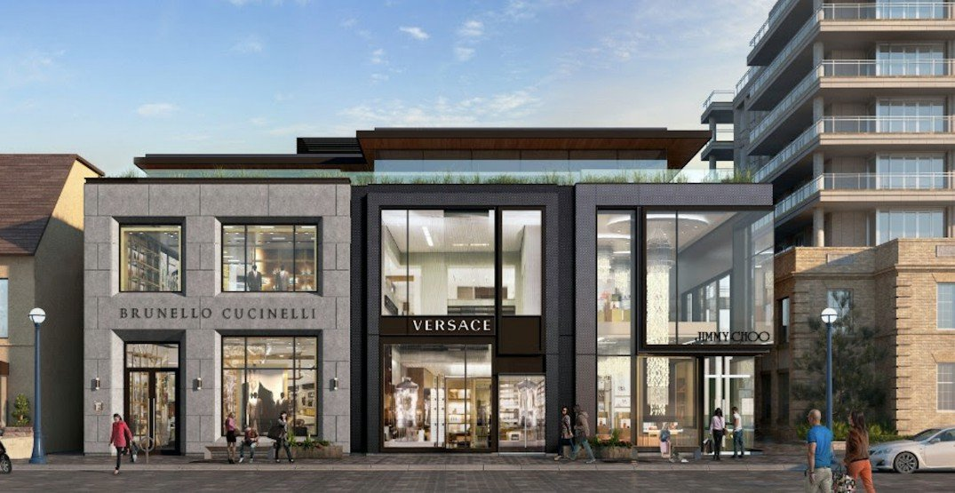 Versace announces first Canadian flagship in Yorkville