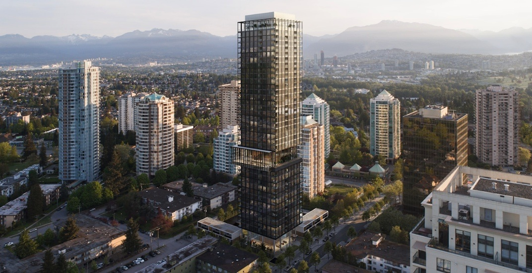 Bold condo tower by Gensler coming to Burnaby's Metrotown area (RENDERINGS)