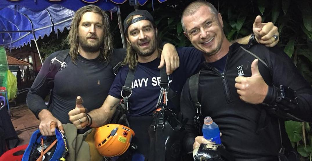 Vancouver diver among heroes who helped save 12 Thai students trapped in cave (PHOTOS)