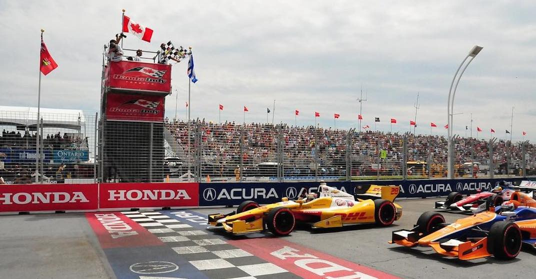 The Ex transforms into a race track this weekend for Toronto's Honda Indy
