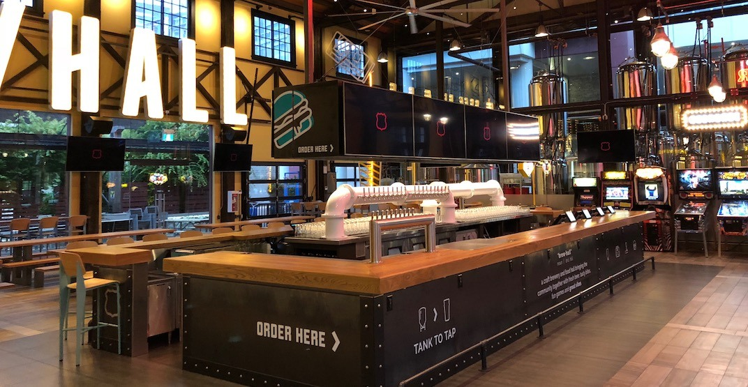 Vancouver's new massive beer hall opens tomorrow (VIDEO)