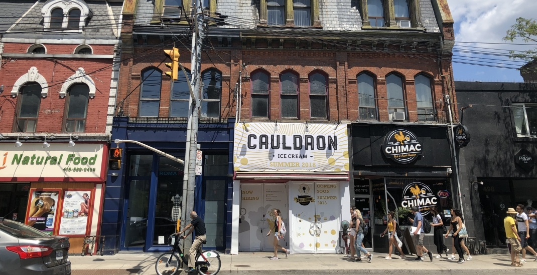 This is where Toronto's first Cauldron Ice Cream store is opening