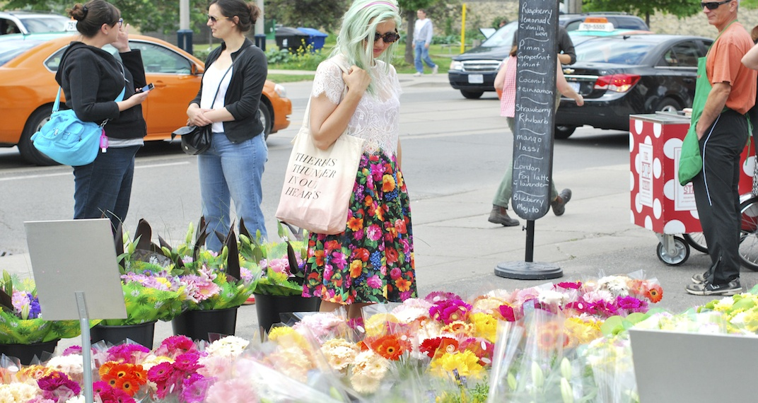A massive flower market is coming to Toronto this weekend