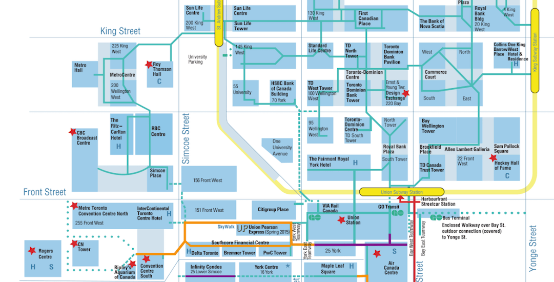 There's a new website to help you navigate through Toronto's confusing PATH
