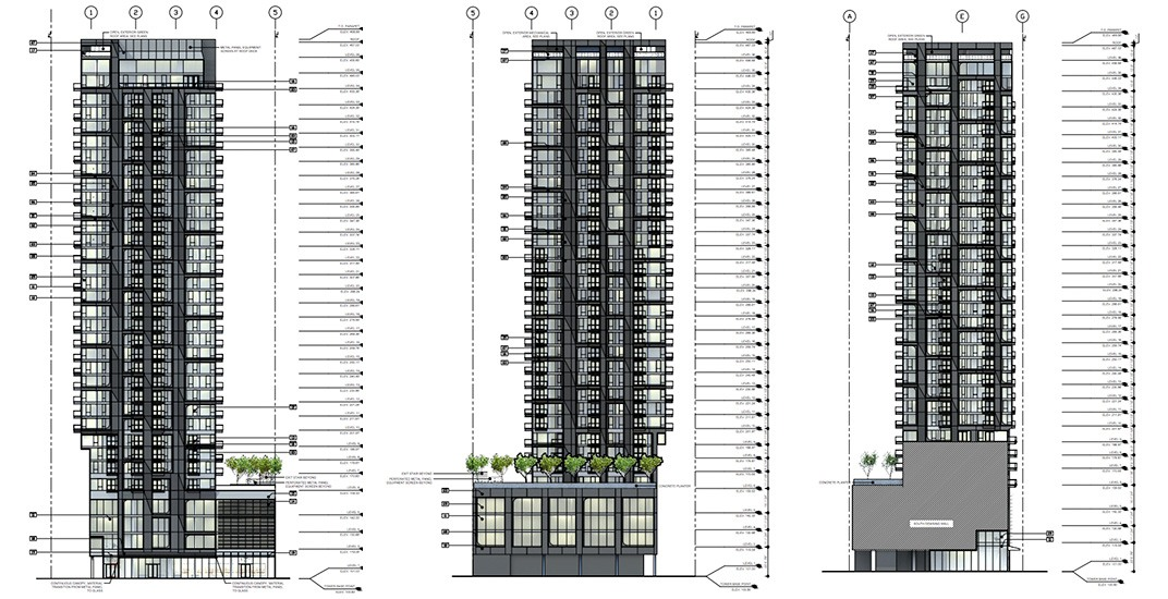 Third tower proposed for Burrard Place in downtown Vancouver