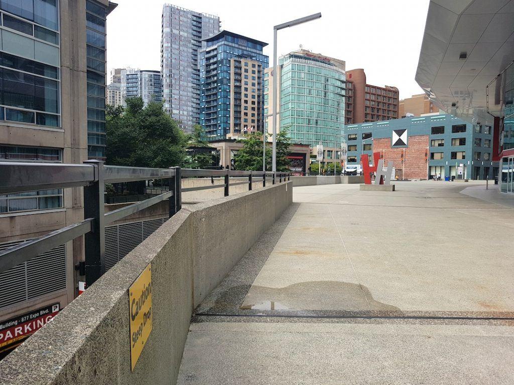 BC Place Stadium safety railings