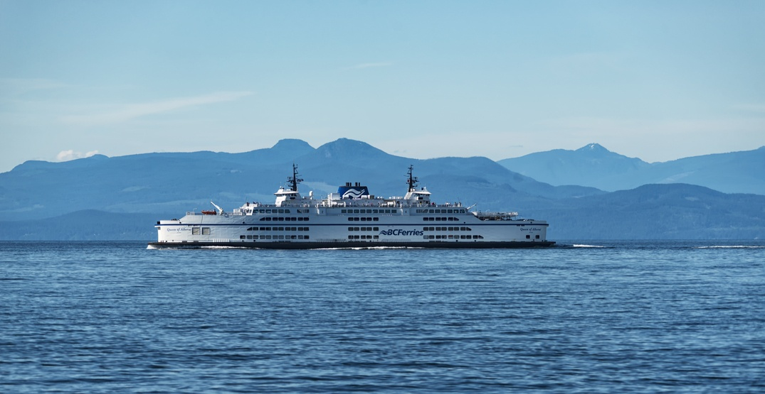 BC Ferries pulls Queen of Alberni from service due to mechanical issues