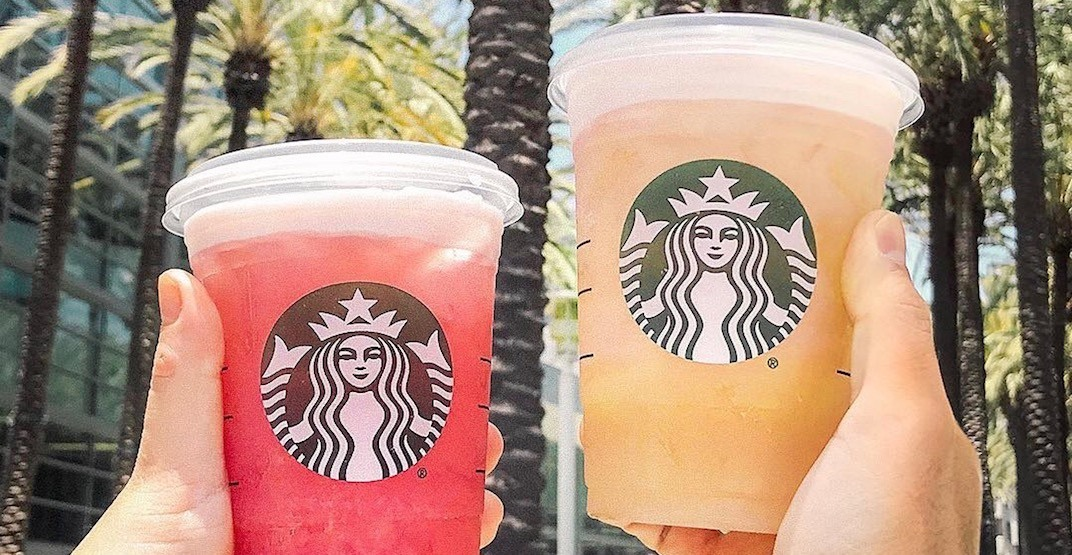 Starbucks is offering half-priced drinks during Happy Hour today