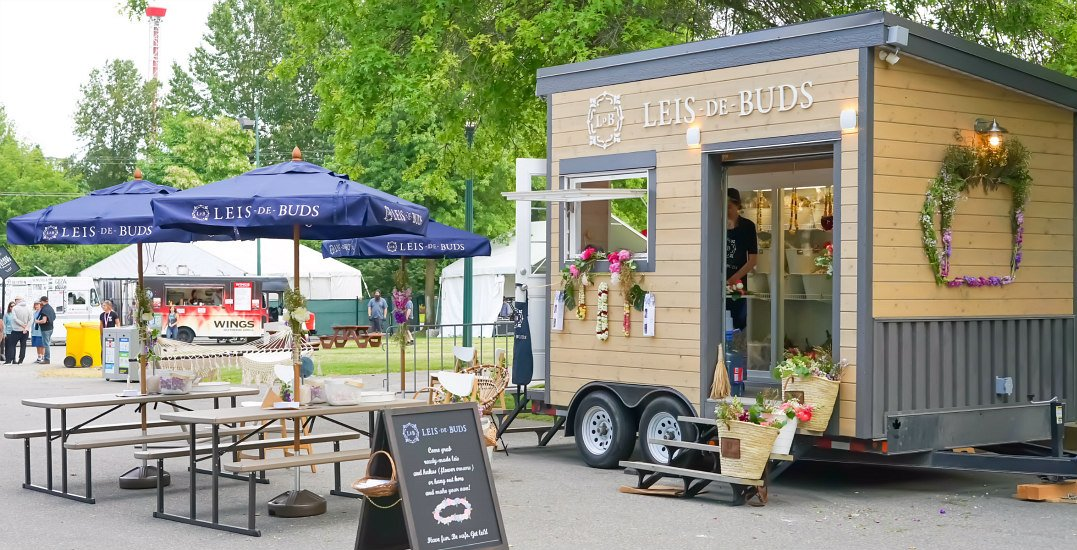 Leis de Buds becomes first store in Vancouver to launch wifi-generating flower market bus
