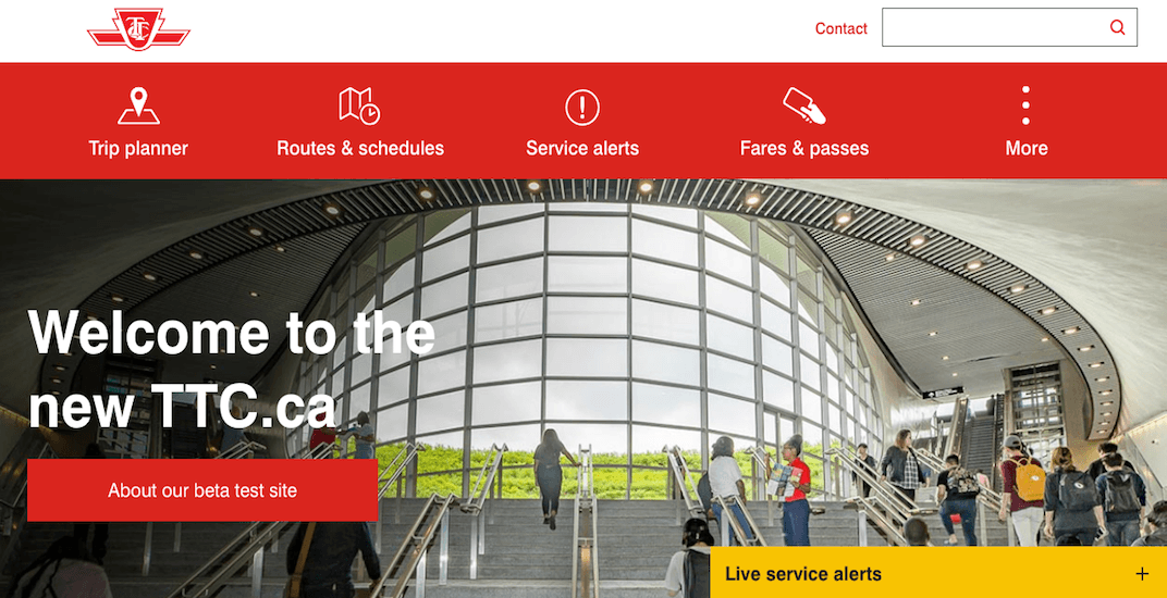 TTC launches phase 1 of its 'new and improved' website