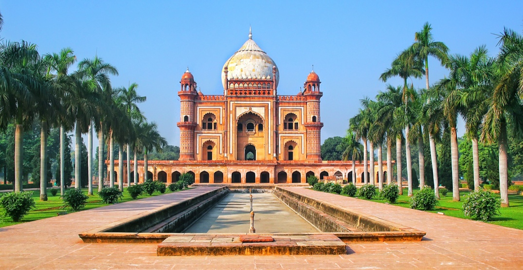 You can fly from Vancouver to India for $624 return