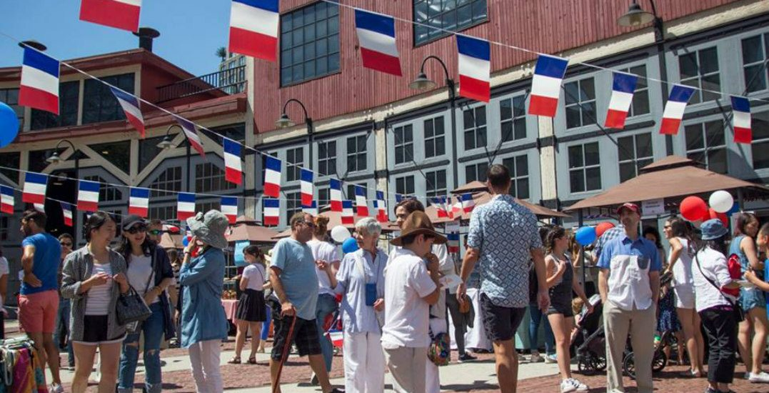 Celebrate French culture at a FREE Bastille Day Festival in Yaletown