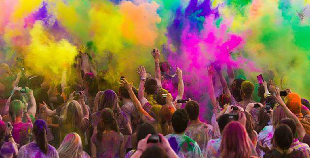 An outdoor concert and powdered colour party are coming to Yaletown this weekend