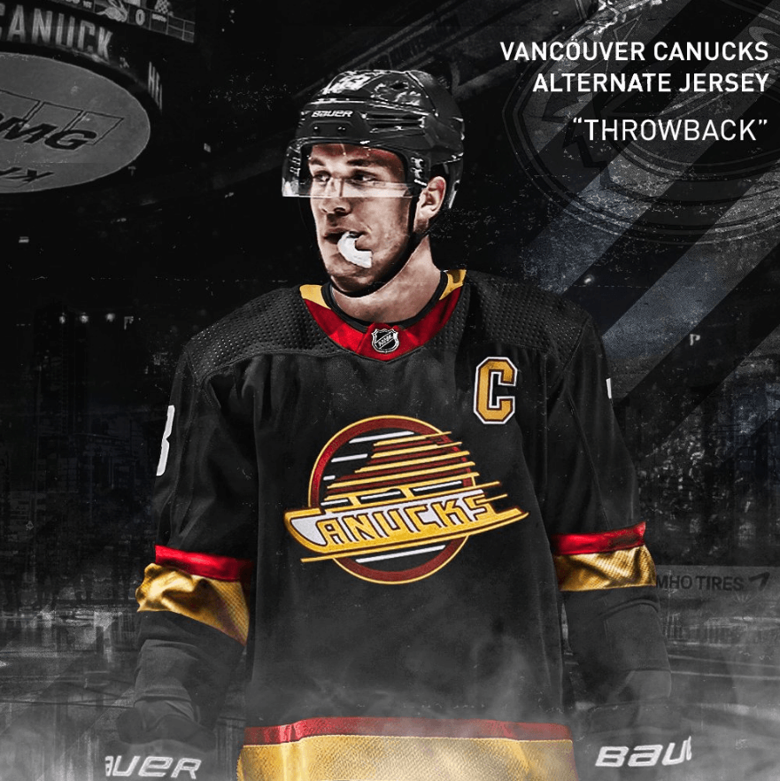 timeless design a97ae f32da Canucks should embrace whacky jersey history with new ...