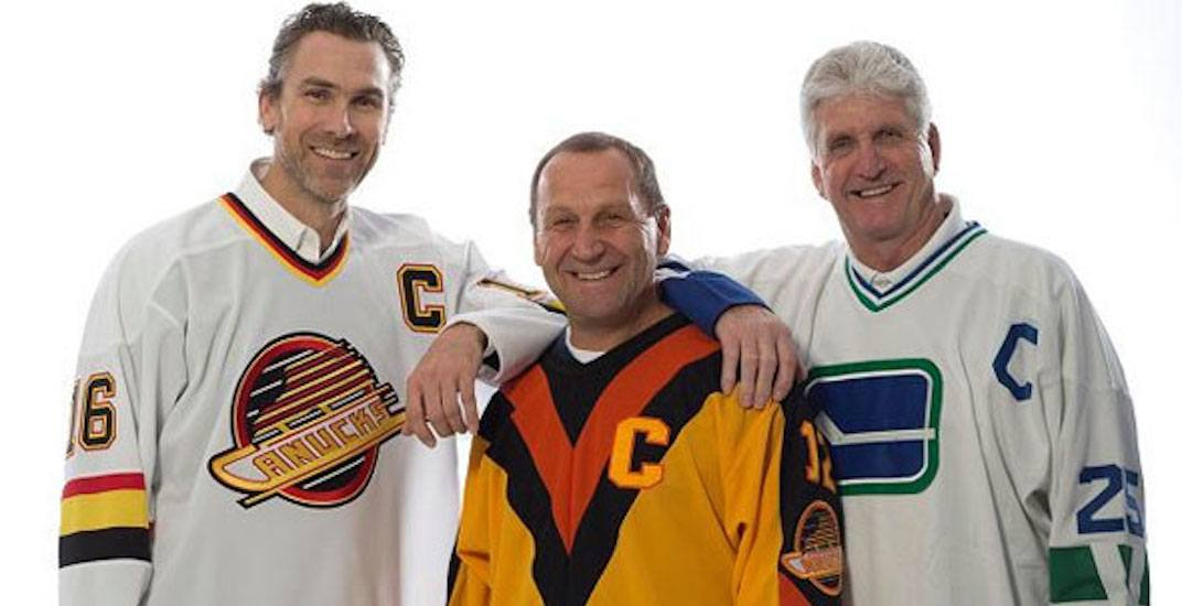 Canucks captains