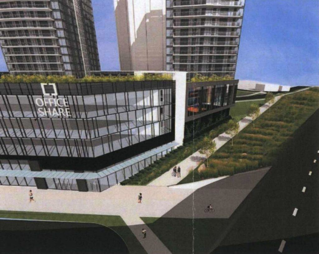 5 Towers With 1 400 Homes Proposed To Replace Best Western