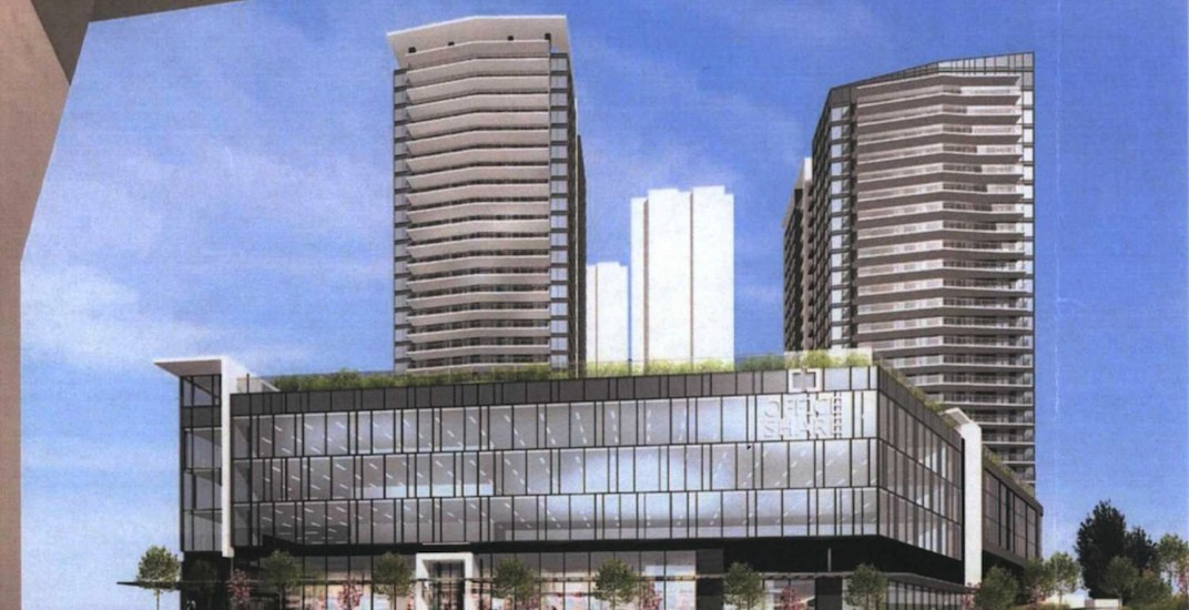 5 towers with 1,400 homes proposed to replace Best Western near Lougheed Station