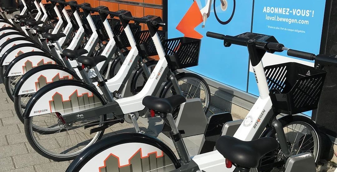 Laval rolls out new electric bike sharing service