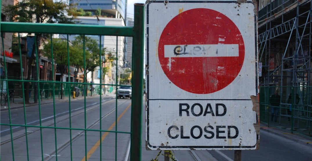 There are the road closures for this weekend's Labour Day parade