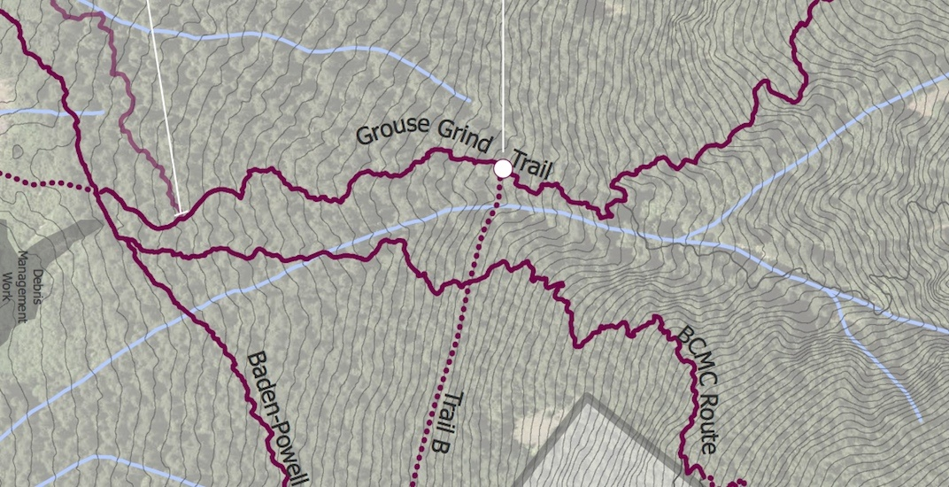 Major plans to reroute and redesign the Grouse Grind trail (MAPS)