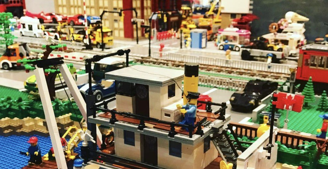 This giant LEGO exhibit is taking over a Metro Vancouver museum this summer
