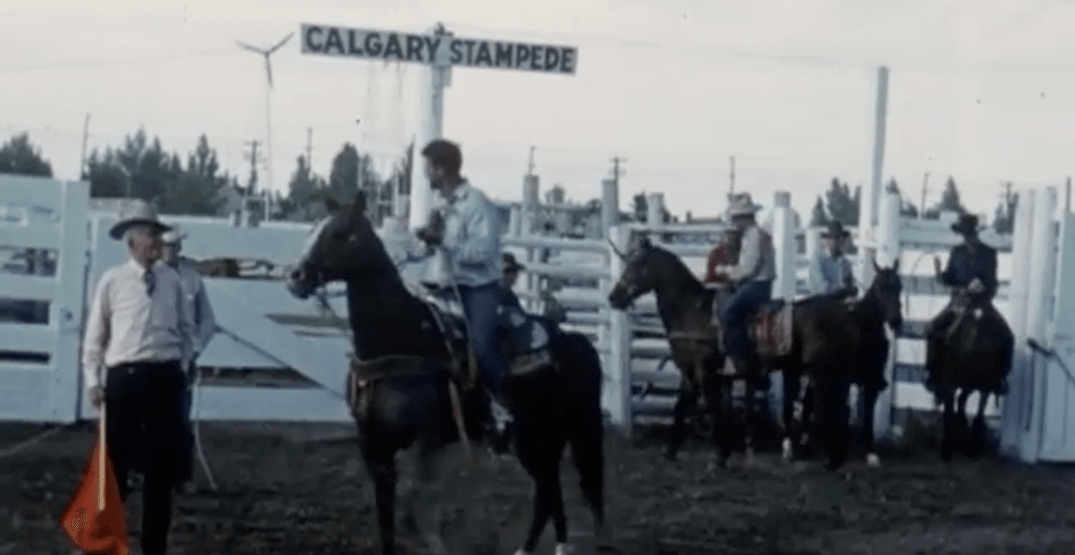 This Is What The Calgary Stampede Looked Like In 1939