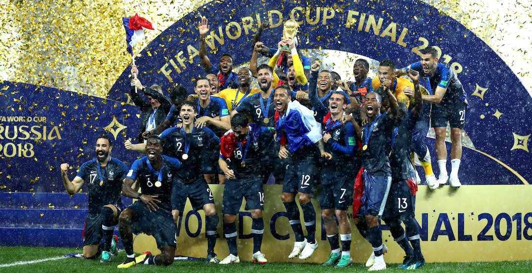 France outscores Croatia to win 2018 FIFA World Cup