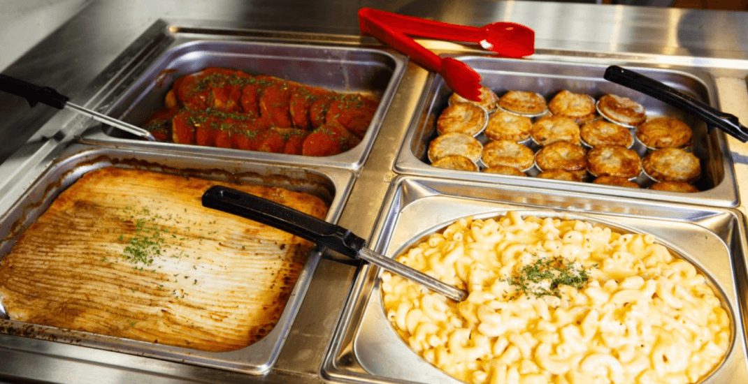 This all-you-can-eat Canadian buffet is just 45 minutes from Toronto