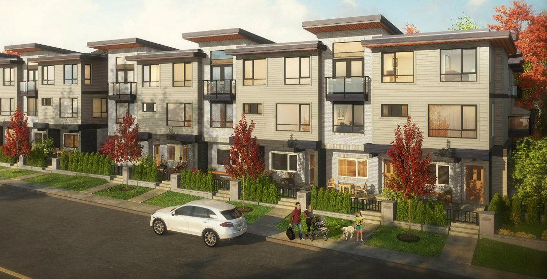 These 3 & 4-bedroom move-in ready urban townhomes start at $898,900