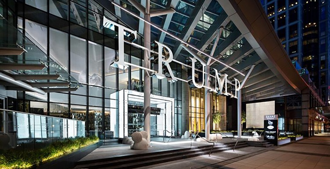 Trump Vancouver named by Forbes as one of the world's most luxurious hotels