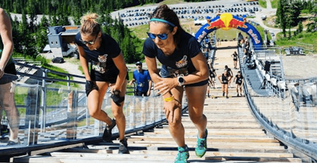 The world's 'toughest 400-metre race' came to Whistler this weekend (PHOTOS)
