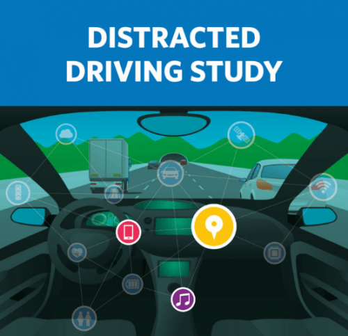 driving while distracted