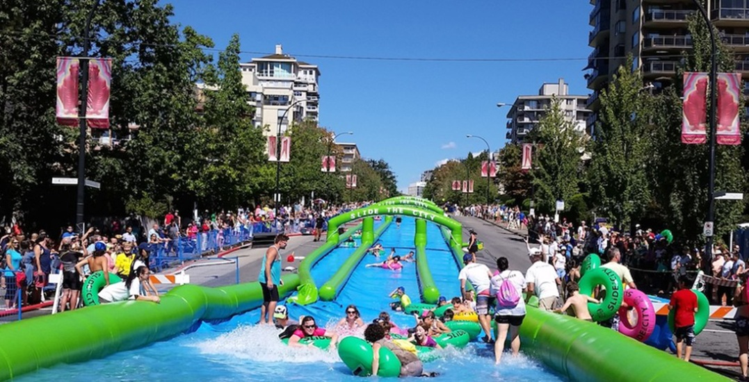 Slide the City North Vancouver returns for 2 days this July