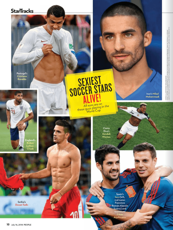 people sexy world cup