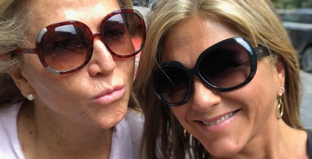 Jennifer Aniston spotted out and about enjoying Old Montreal