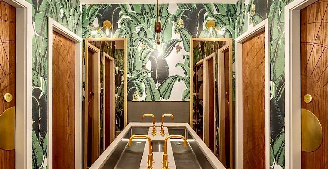 This Vancouver restaurant is a finalist for Canada's Best Restroom