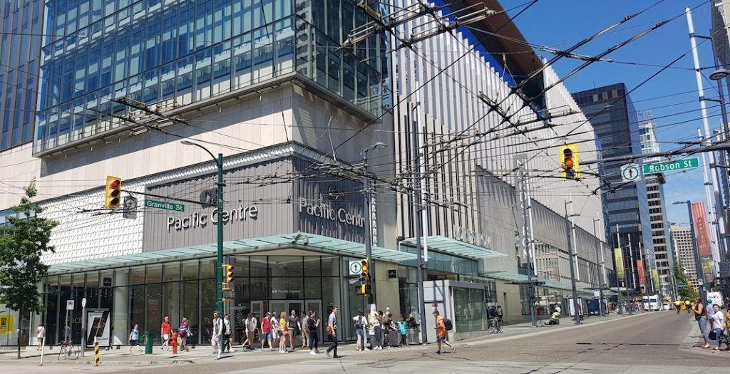 Canada Line Nordstrom Vancouver City Centre Robson Granville