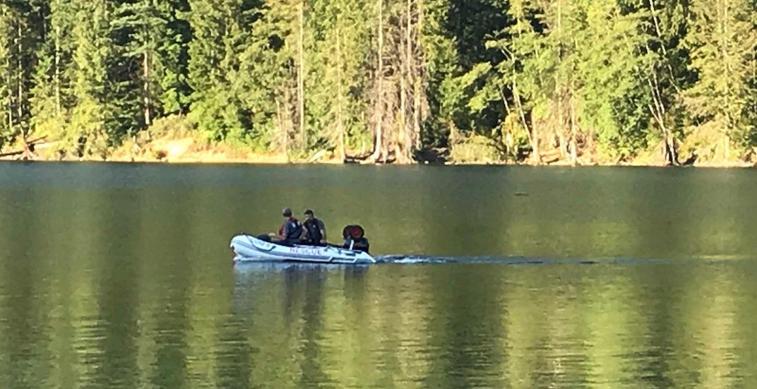 Coquitlam buntzen lake search and rescue