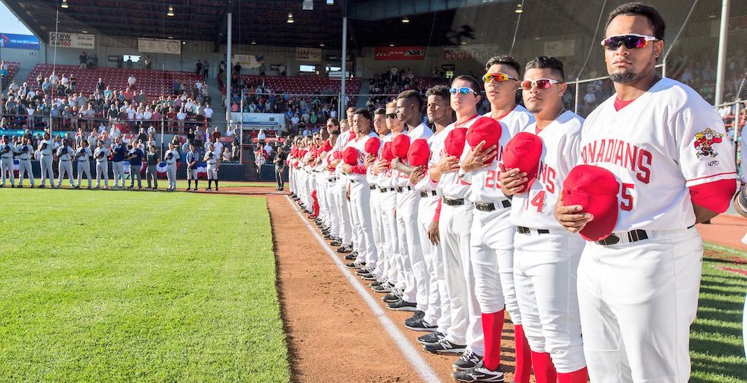 Vancouver Canadians temporarily relocating to Oregon this season