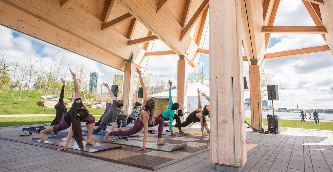 You can do free outdoor yoga at Ontario Place all summer ...