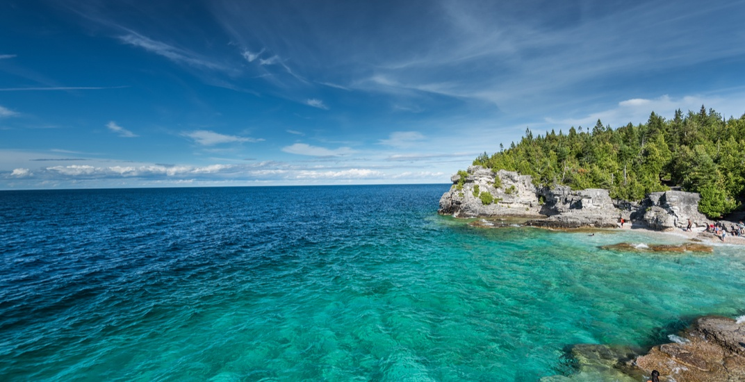 Bruce Trail adds stunning new cove to provincial park