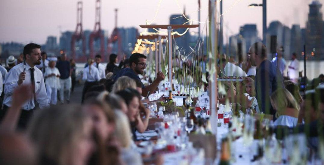 Tickets for North Vancouver's Dinner on the Pier are selling out fast