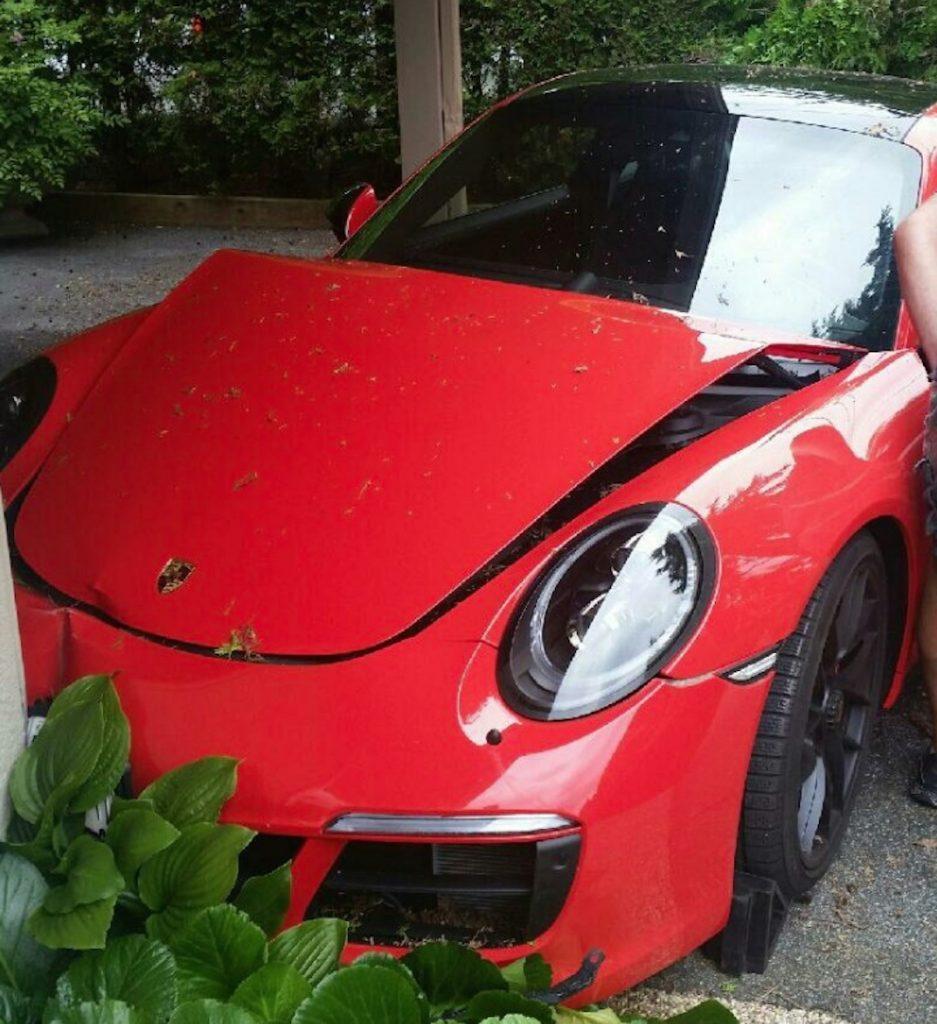 Porsche West Vancouver Police