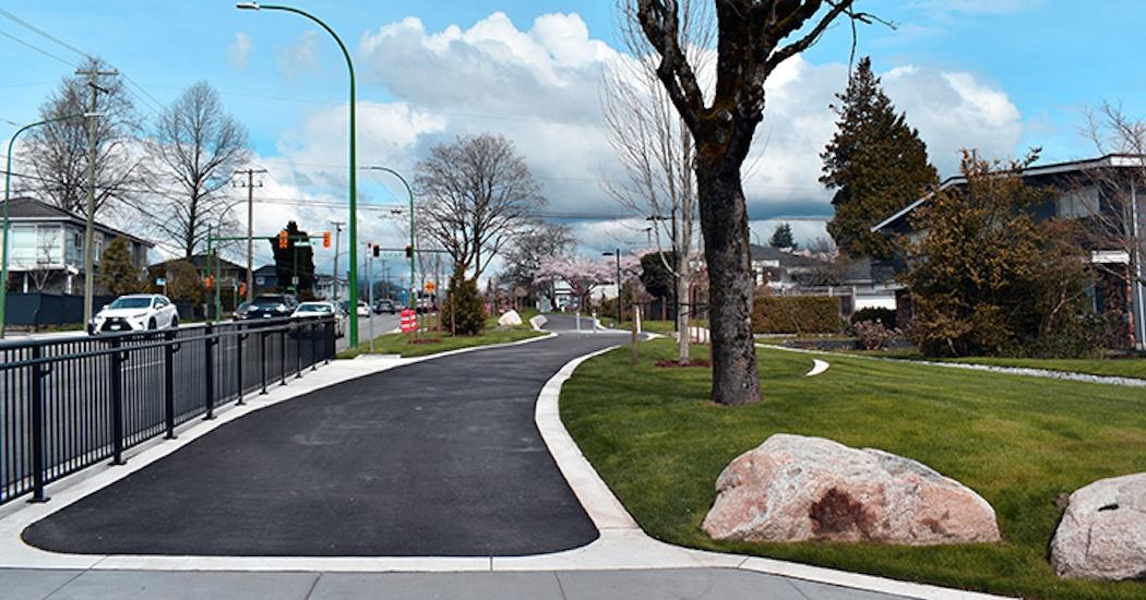 Burnaby's new 13-block-long Willingdon Linear Park wins design award