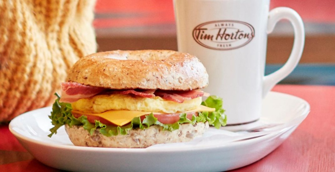 Breakfast for dinner (or anytime) at Tim Hortons starts this week