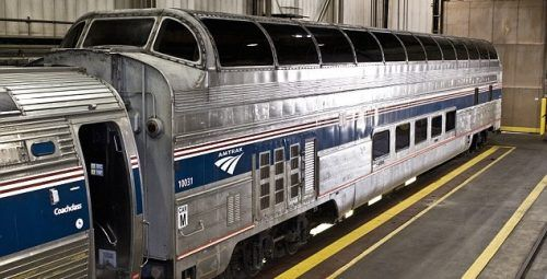 classic Amtrak trains