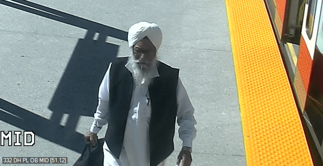 Calgary Police Service seeking suspect in CTrain sexual assault