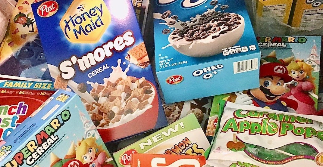 There's a cereal bar pop-up happening in Vancouver next month