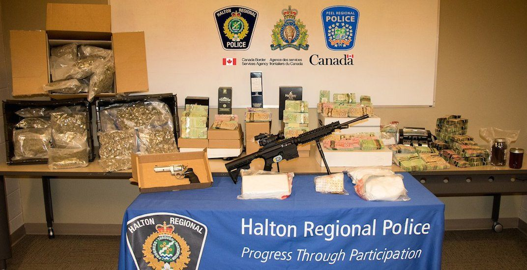 Police arrest 11 in connection with drug trafficking ring in the GTA